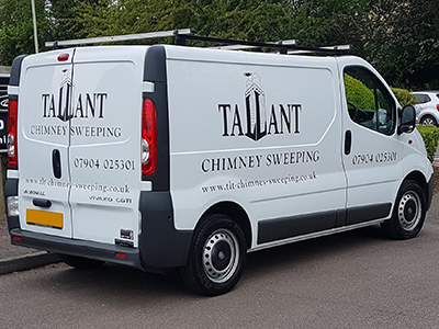Tallant Chimney Sweeping transport